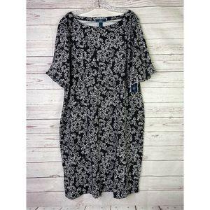 Karen Scott Plus 1X T Shirt Dress